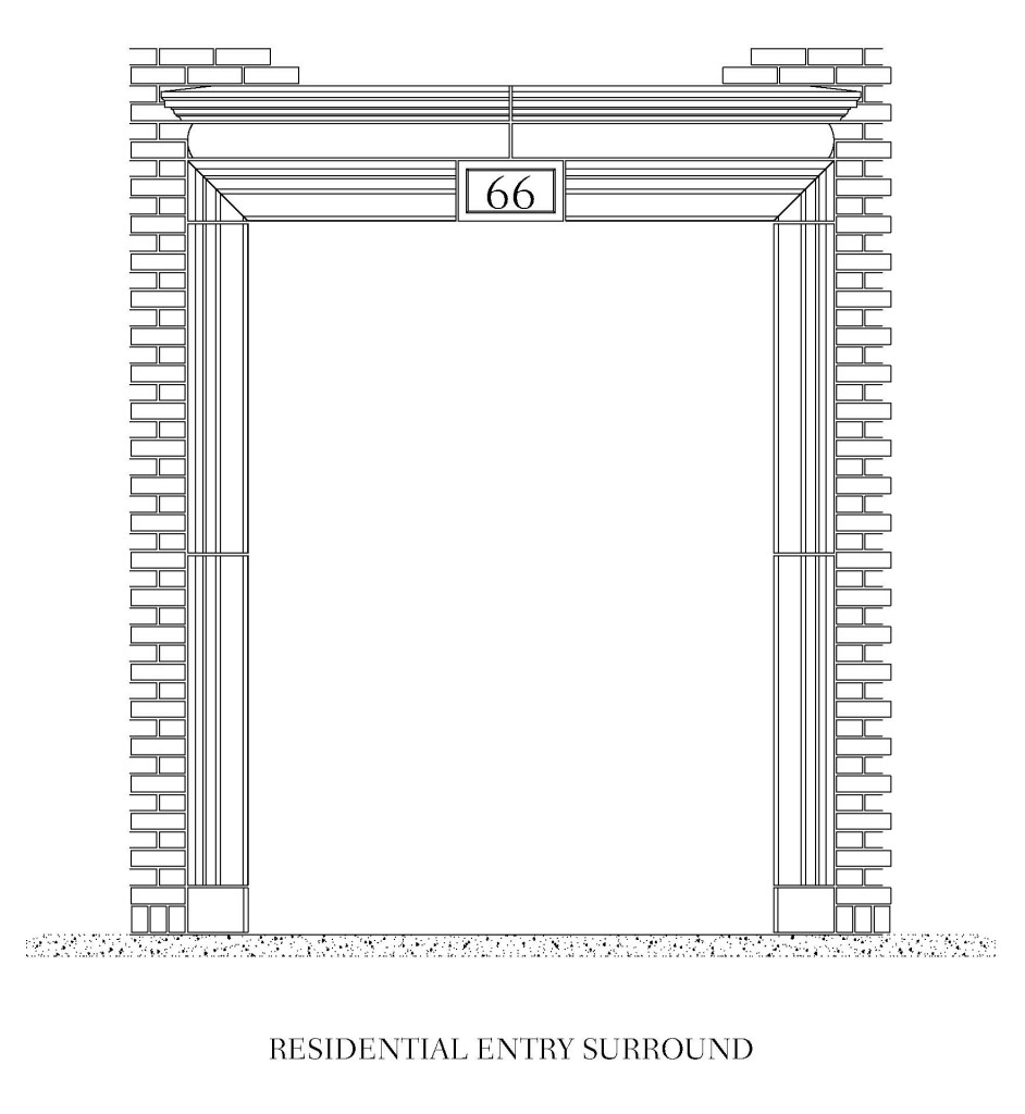 Residential Entry Surround