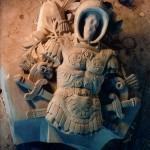 Ionic Cut Stone-Faceless Armored Man