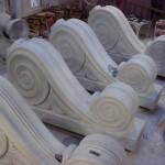 Ionic Cut Stone-Scrolls